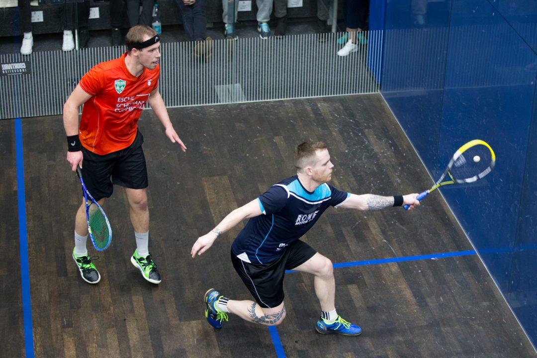 Sina und Raphael Kandra ziehen souverän in die DEM-Halbfinals ein